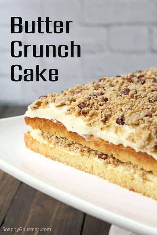 Gourmet cake recipes