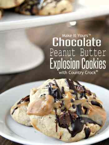 Chocolate Peanut Butter Explosion Cookies Recipe
