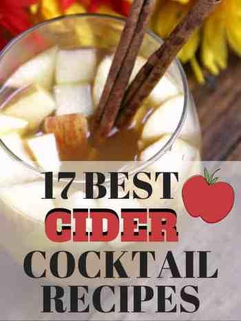 17 Best Cider Cocktail Recipes | SnappyGourmet.com #cider #cocktails