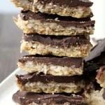 Coconut Crack Bars Recipe - easy homemade twist to toffee graham crackers aka Christmas Crack.