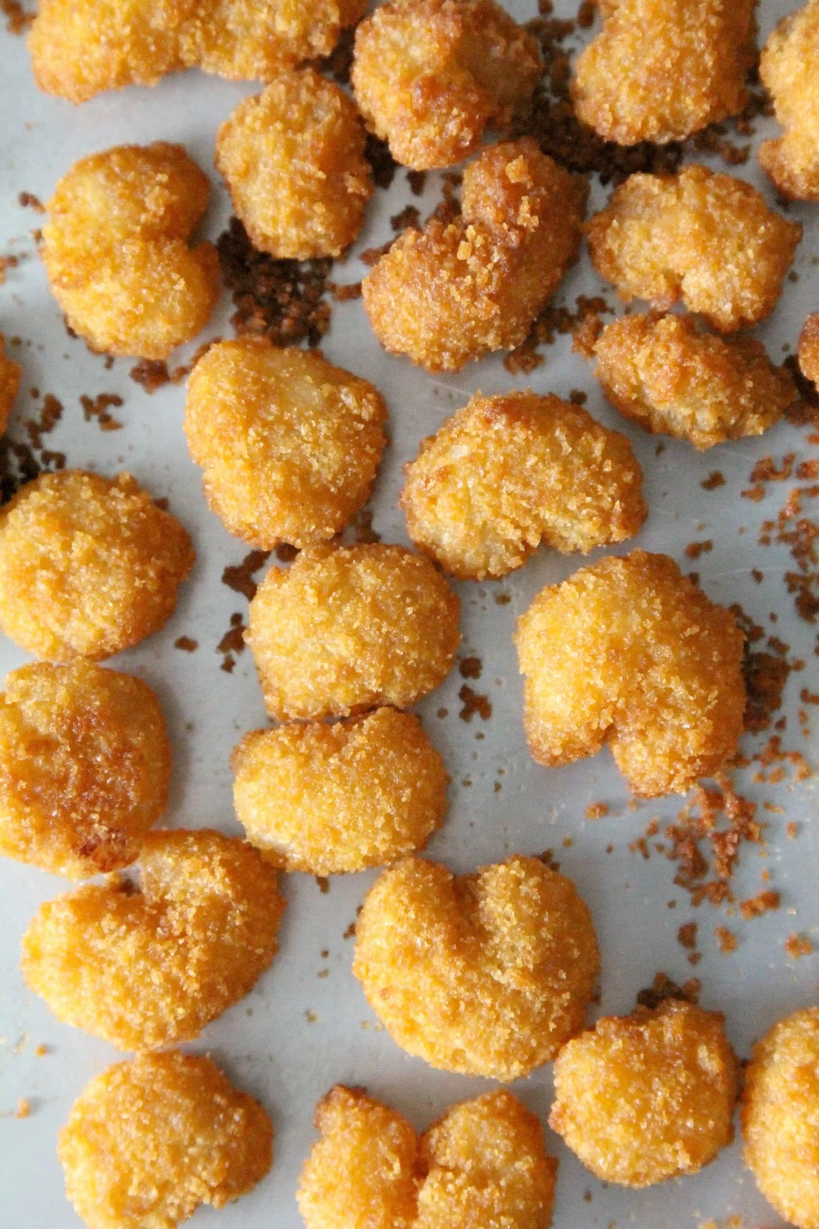Easy Honey Walnut Popcorn Shrimp Recipe with an easy sauce and baked popcorn shrimp - SnappyGourmet.com