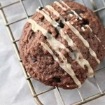 Mudslide Cookies Recipe - Chocolate cookie recipe just like the recipe for a mudslide drink! SnappyGourmet.com