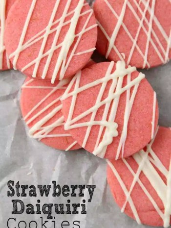 Strawberry Daiquiri Cookies Recipe