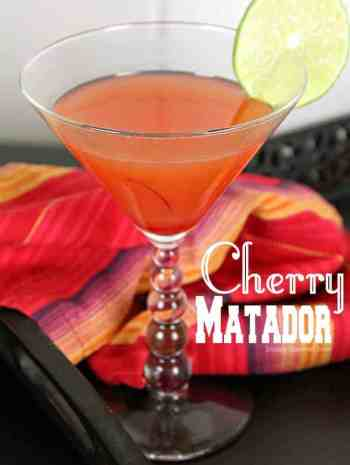 Cherry Matador Cocktail Recipe