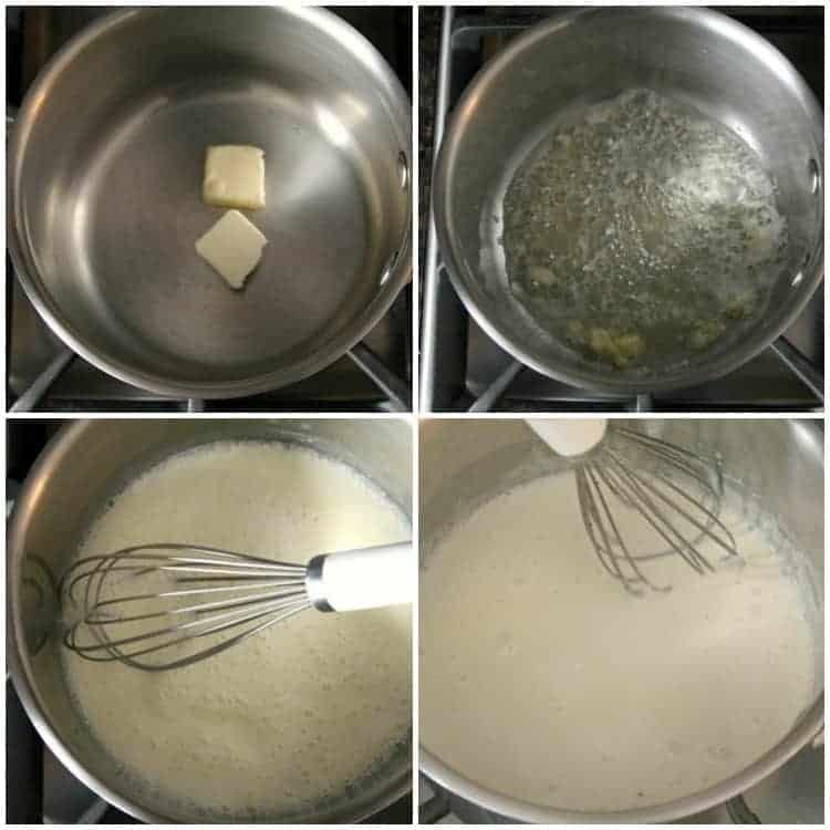 Homemade Alfredo Sauce Recipe - how to make alfredo sauce at home