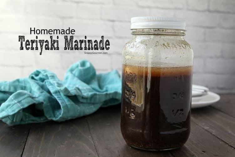 Teriyaki Marinade - quick homemade teriyaki marinade recipe