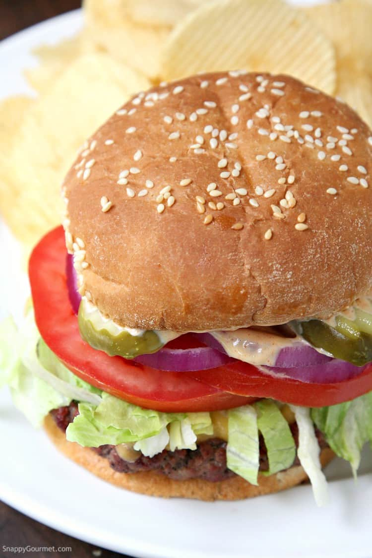 Killer Burger Recipe - how to make the best All American Burger on the grill