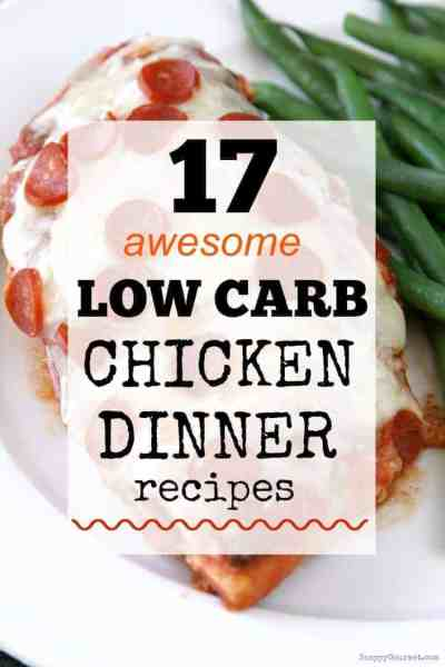 Low Carb Chicken Recipes - easy chicken dinners