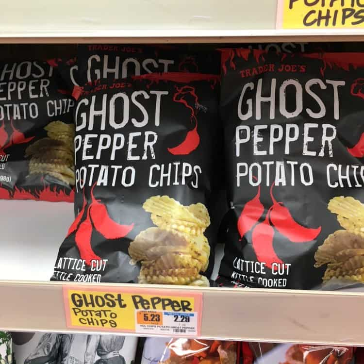 Best Trader Joe's Products (ghost pepper chips)