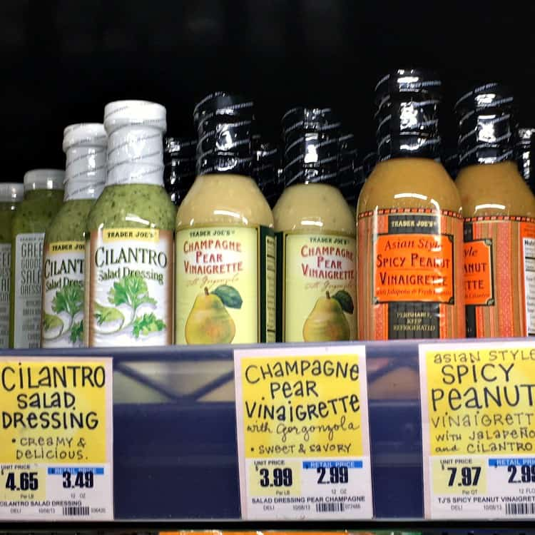 Best Trader Joe's Products (salad dressings)