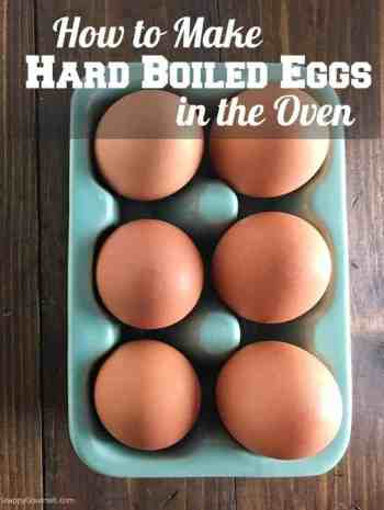 How to make hard boiled eggs in oven