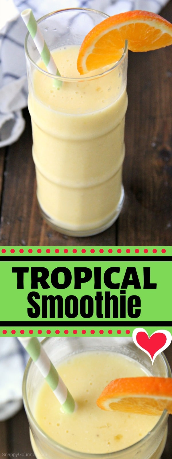 Tropical Smoothie collage