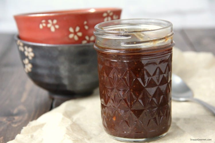 Korean BBQ Sauce in jar