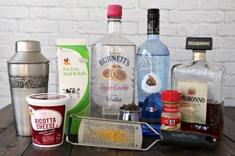 cannoli martini ingredients