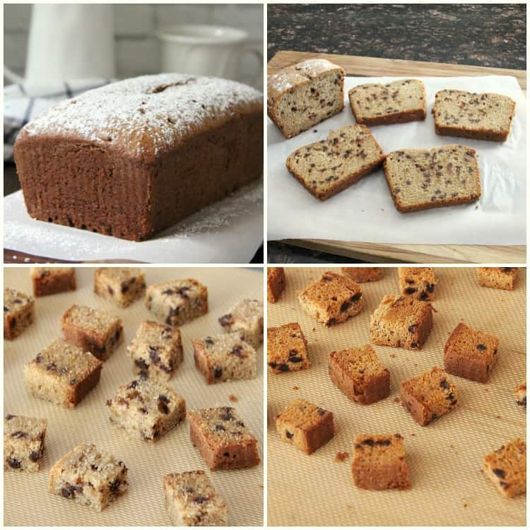 steps to how to make cannoli croutons