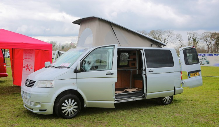 Campervan Holiday with a toddler