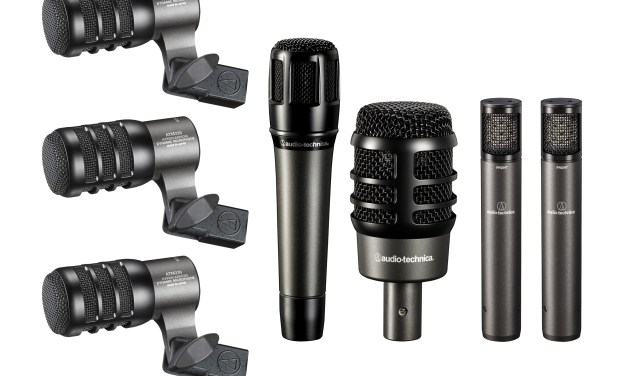 Audio-Technica Now Shipping Drum Mic Bundles, as Well as an Exclusive Vocal Mic Bundle