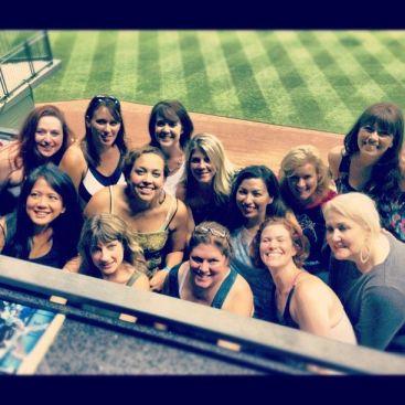 Harley Women at Baseball