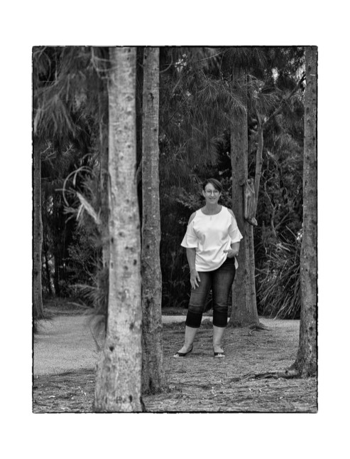 Portrait in the Woods