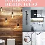 Upgrade Your House With Modern & Minimalist Bathroom Design Ideas That Will Impress Your Guest