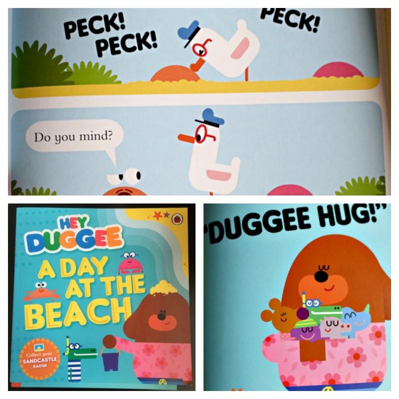 hey duggee at the beach book