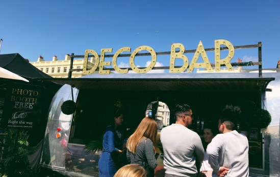 Cool deco bar