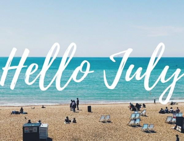 hello july. instagram roundup june