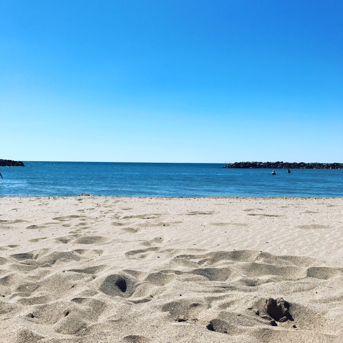 valras plage beach south of france