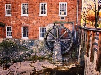 St. Charles waterwheel