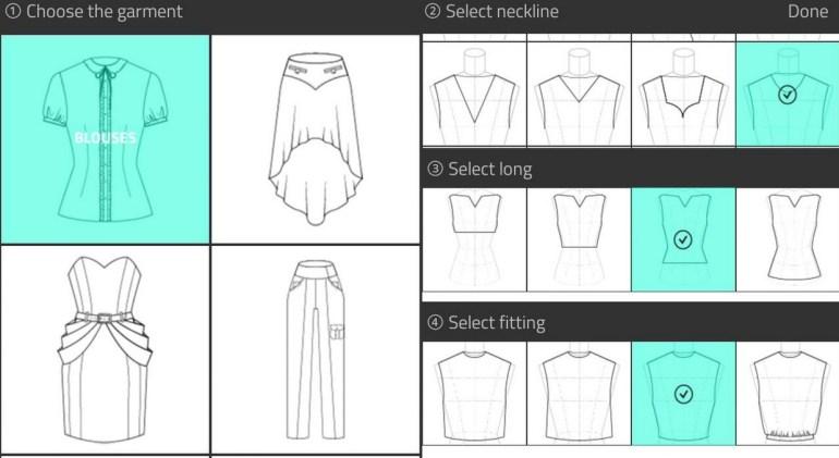 aplikasi desain baju fashion design flat