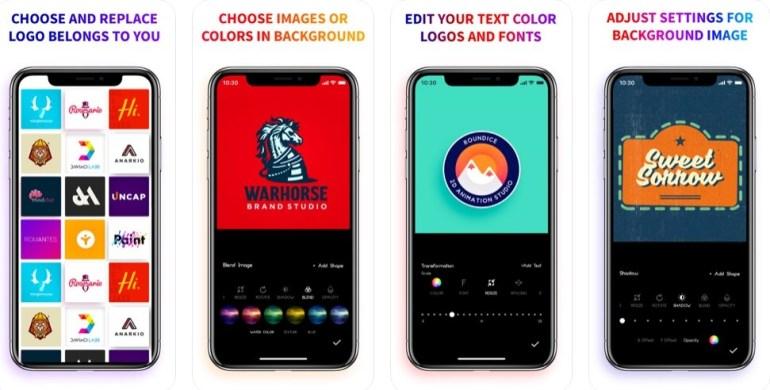 aplikasi pembuat logo di iphone logo maker creator