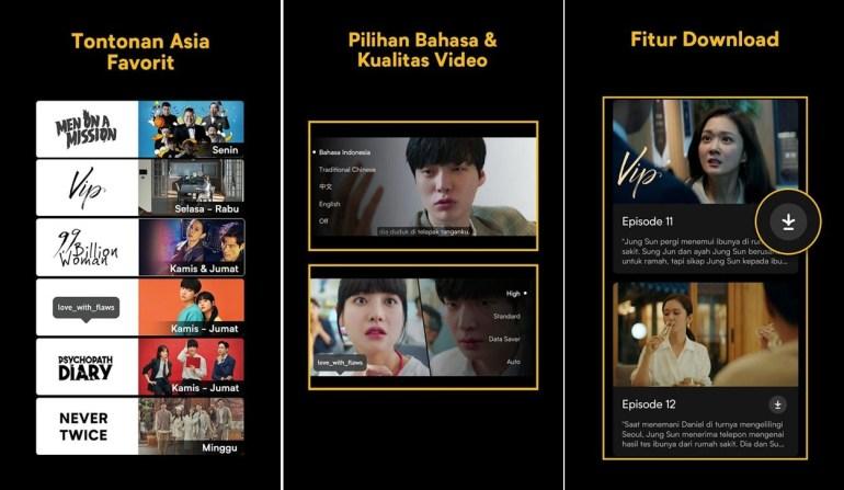 apps aplikasi download film viu