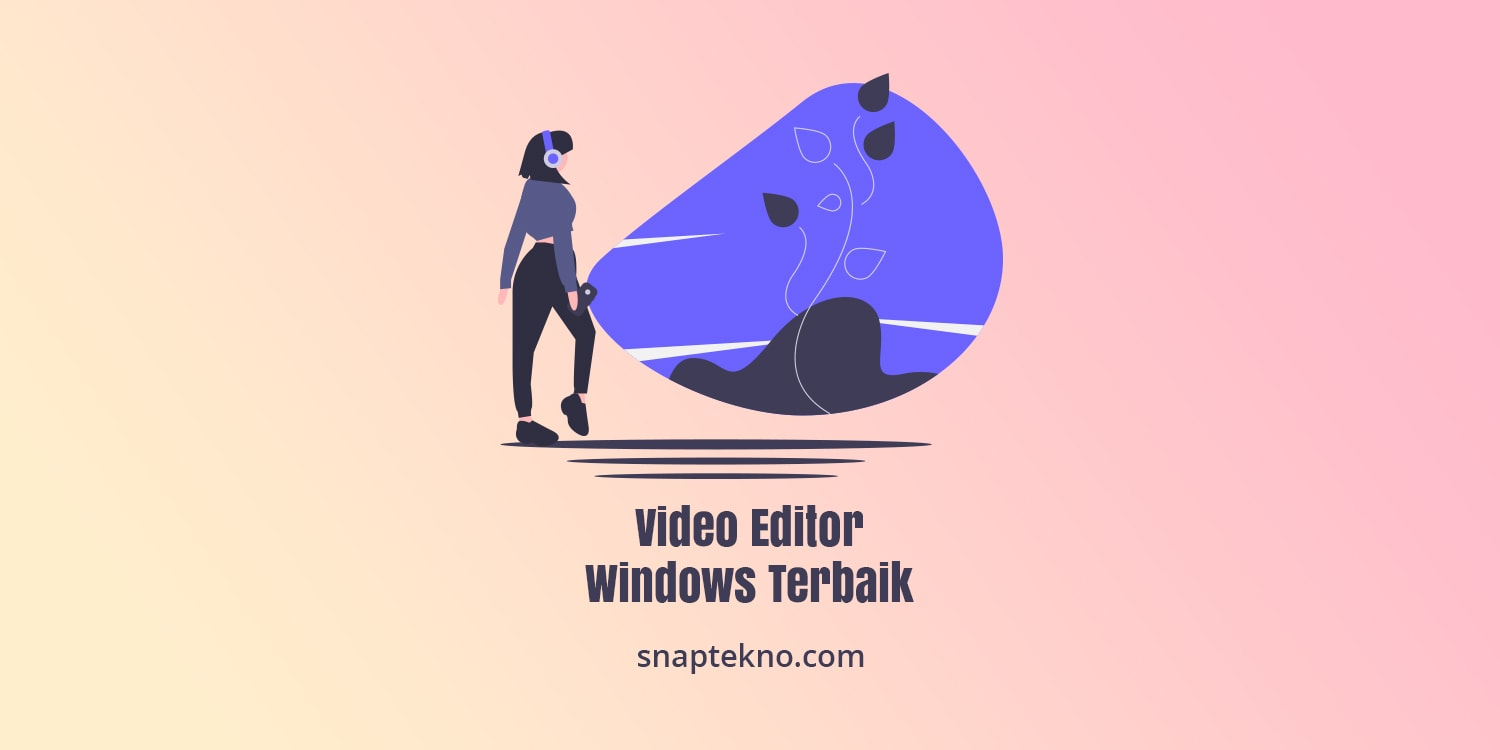 software video editor windows terbaik