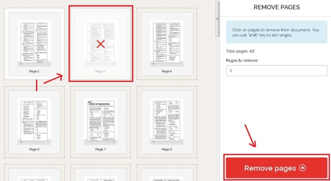 hapus halaman pdf