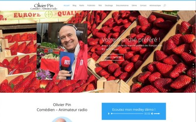 Un nouveau site olipin.com par SnapWeb !