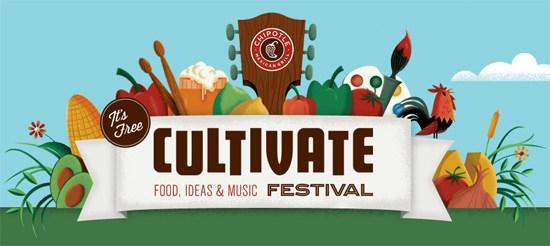 Chipotle Cultivate Festival 2015