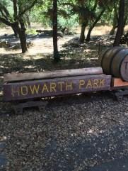 howarth_park_sign