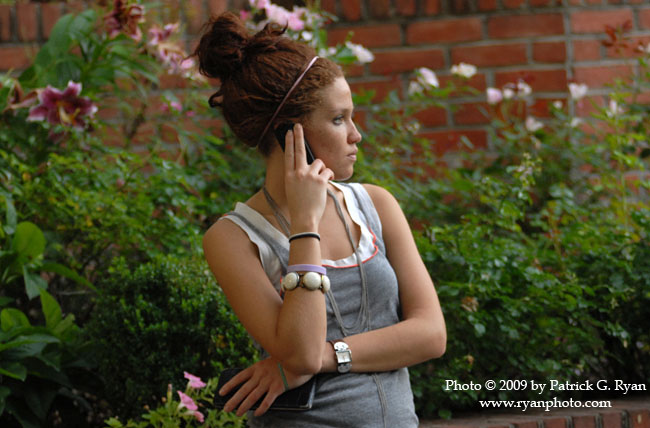 Girl on Cell phone1.37*