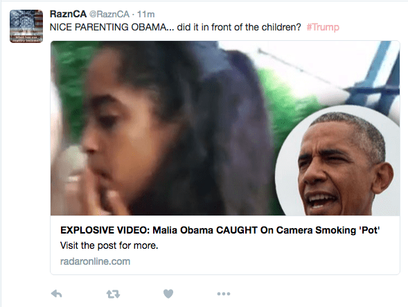 REAP WHAT YOU SOW! Angry Dad Barack RIPS Daughter Malia For 'Pot' Smoking Video