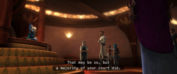 The Clone Wars, Season 2, Episode 13: Get a (Ridiculously