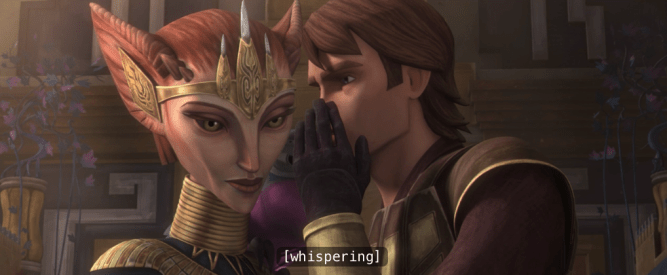 The Clone Wars, Season 4, Episode 12: At Her Majesty's