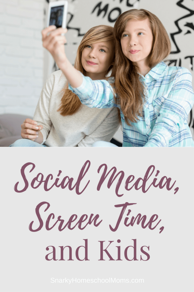Social Media, Screen Time, And Kids - Snarky Homeschool Moms podcast