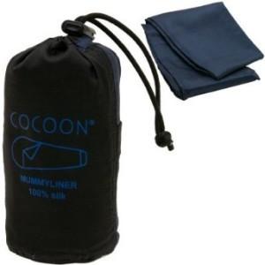 Cocoon ripstop silk sleeping bag liner.