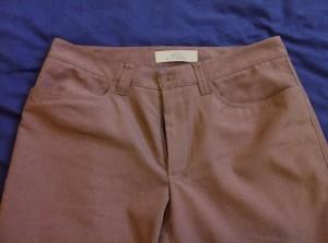 Bluffworks pants pocket detail