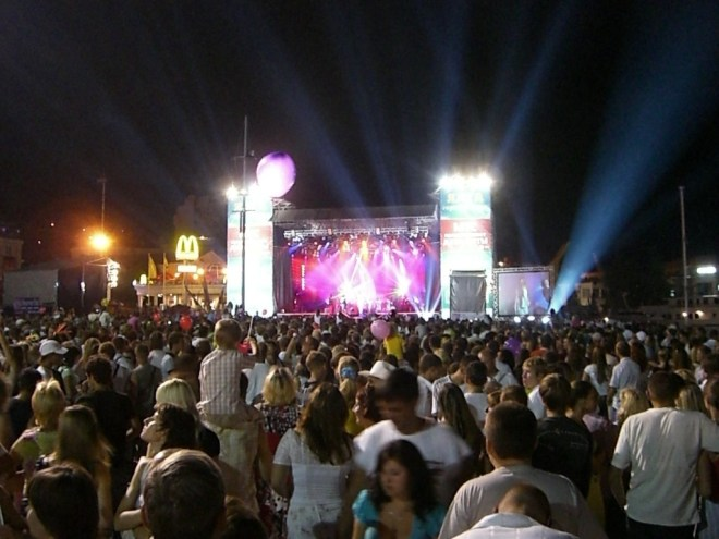 Party in Yalta, Crimea, Ukraine