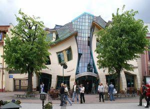 Krzywy Domek, Crooked House, Sopot, Poland