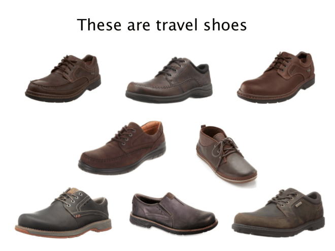 Travel shoes for men