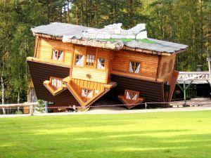 Upside down house, Szymbark Domek, Poland
