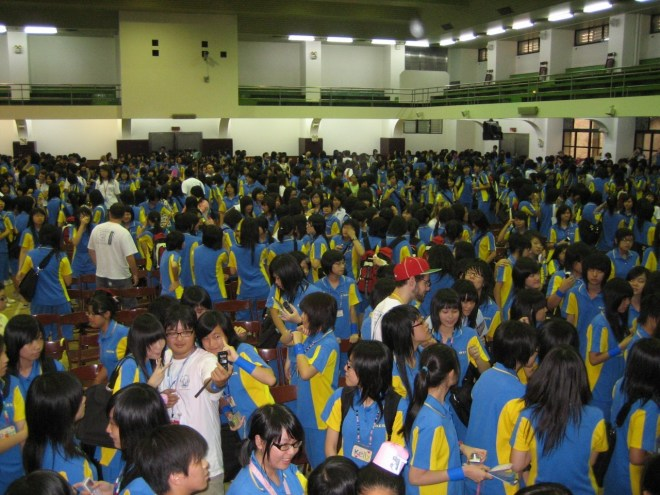 Taiwan English camp graduation day