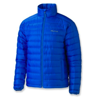 Marmot down jacket hooded 650